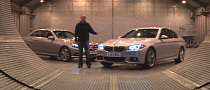 2014 BMW 520d LCI vs Mercedes-Benz E220 CDI Comparison [Video]