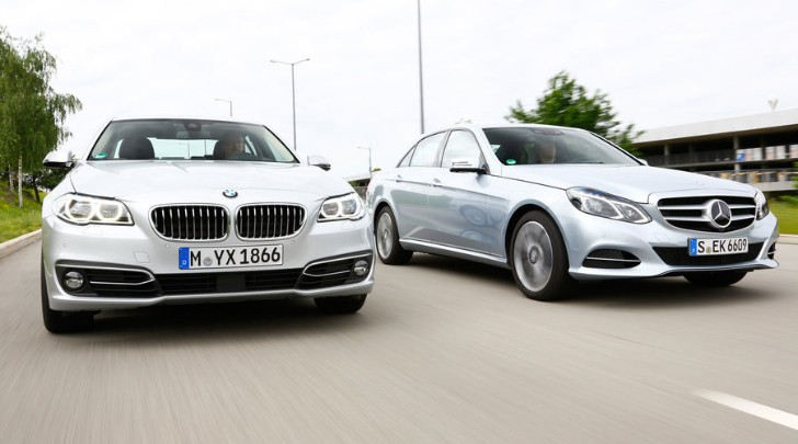2014 BMW 530d vs Mercedes-Benz E350 Bluetec Comparison Test