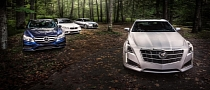 2014 BMW 535i xDrive vs Audi A6 vs E350 vs Cadillac CTS Comparison Test