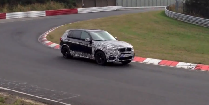 2014 BMW F15 X5 M Testing on the Nurburgring [Video]