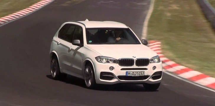 2014 BMW F15 X5 M50d Riding Hard on the Nurburgring [Video]