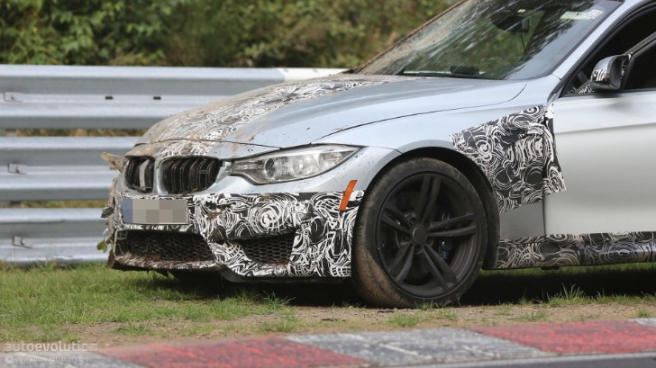2014 BMW F80 M3 Already Crashed on the Nurburgring [Photo Gallery]