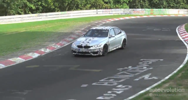 2014 BMW F80 M3 on the Nurburgring [Video]
