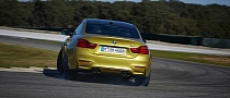2014 BMW M3 Will Burn Rubber Easier with Smokey Burnout Function