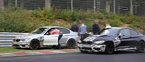 2014 BMW M3 Prototype Crashed on the Nurburgring [Photo Gallery]