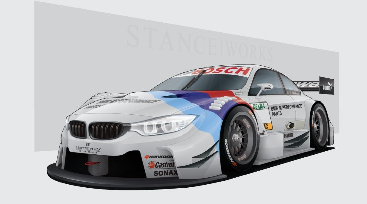 2014 BMW M4 DTM Renderings by Stance Works