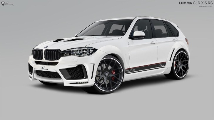 2014 BMW X5 by Lumma Design Looks Like a Stormtrooper