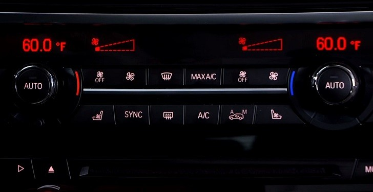 2014 BMW X5 HVAC Buttons Functions Explained [Video]