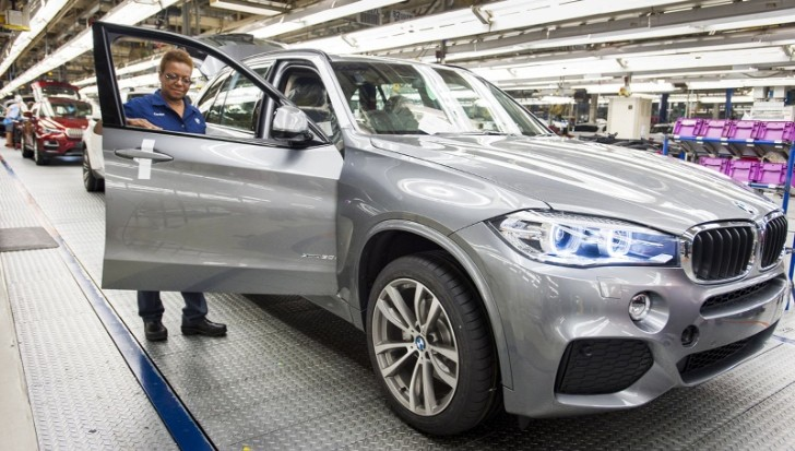2014 BMW X5 Production Debuts with X5 M50d