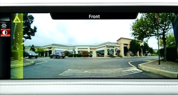 2014 BMW X5 Uses Panoramic Cameras for More Traffic Safety [Video]