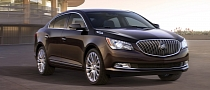 2014 Buick LaCrosse Gets Fresh Styling, Updated Safety [Photo Gallery]