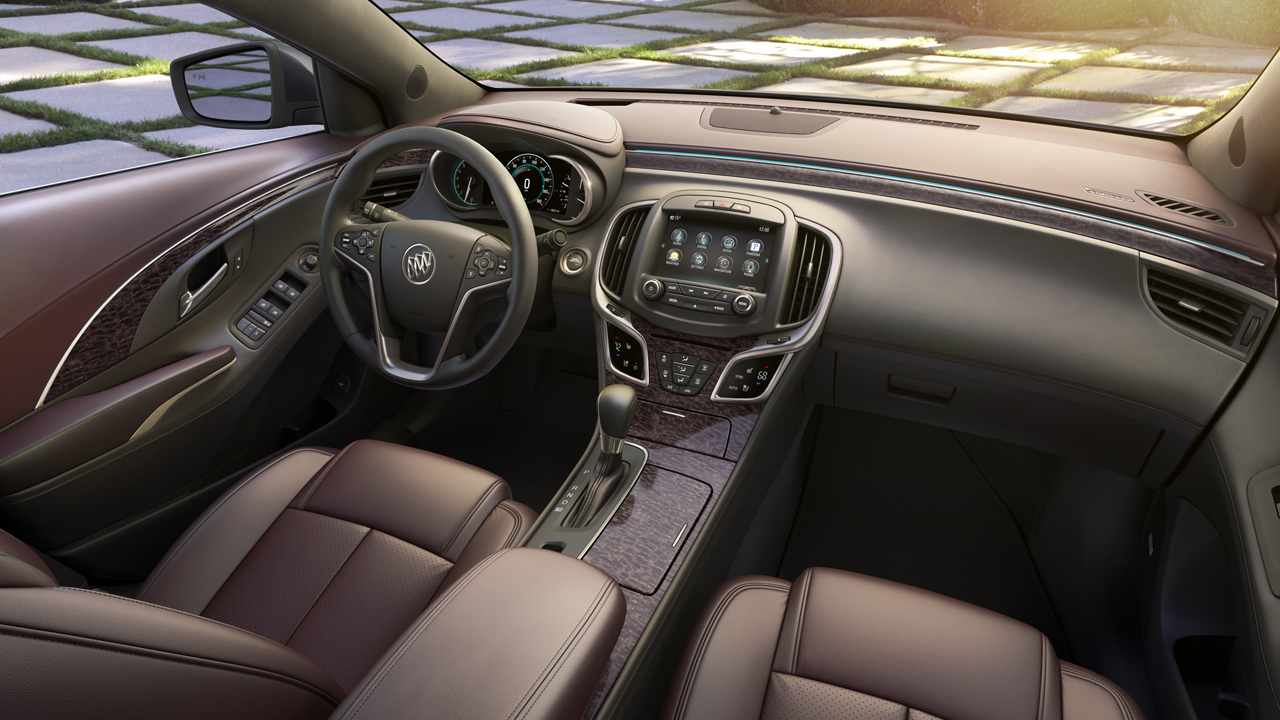 2014 Buick Lacrosse Gets Ultra Luxury Interior Package Autoevolution