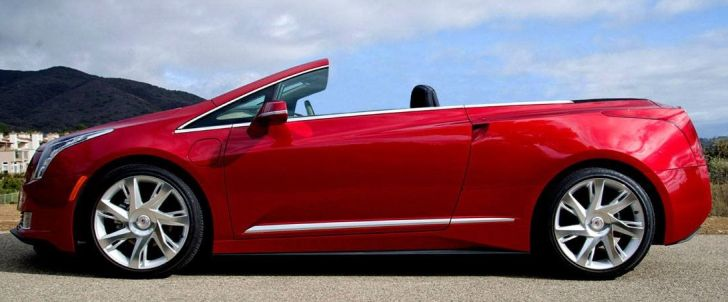 Audi Tt For Sale >> 2014 Cadillac ELR Convertible Underway from NCE ...