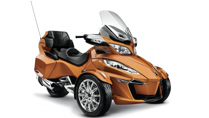 2014 Can-Am Spyder RT Receives Massive Upgrades
