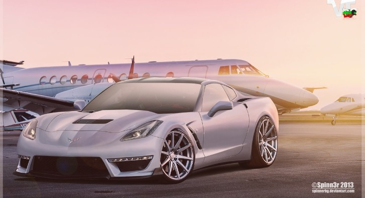 2014 Chevrolet Corvette C7 Stingray ZR1 Rendering Released