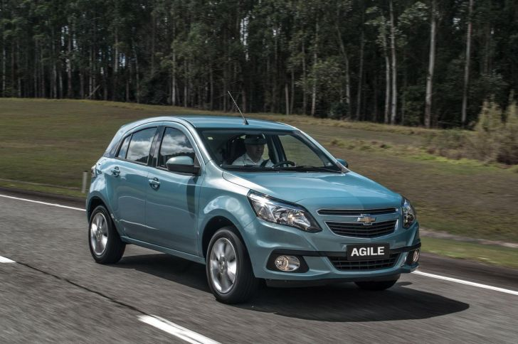 2014 Chevrolet Agile Unveiled in Brazil [Photo Gallery]