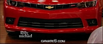 2014 Chevrolet Camaro: First Photos Show New Design