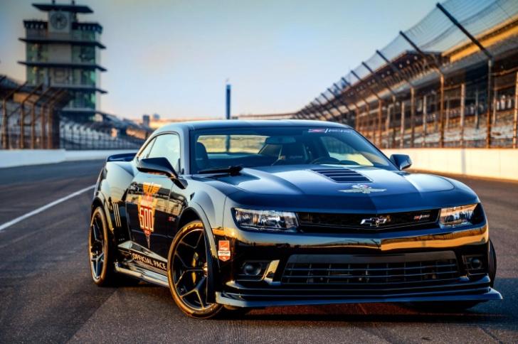 2014 Chevrolet Camaro Z28 Indy 500 Pace Car Unveiled Autoevolution
