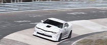 2014 Chevrolet Camaro Z/28 Spotted Testing at Nurburgring [Video]
