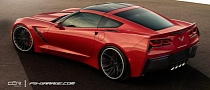 2014 Chevrolet Corvette C7 Stingray Virtual Tuning: COR Wheels