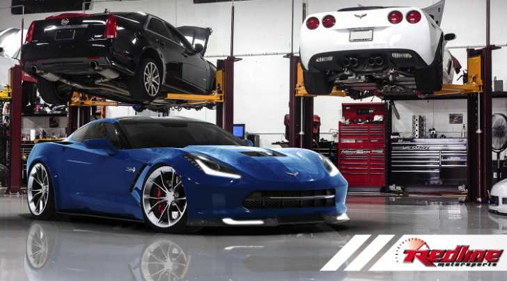 2014 Chevrolet Corvette Stingray to Get 650 HP Twin-Turbo Kit from Redline Motorsports