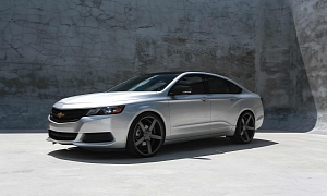 2014 Chevrolet Impala on Vossen Wheels