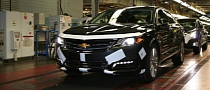 2014 Chevrolet Impala Production Begins at Oshawa Assembly [Photo Gallery]