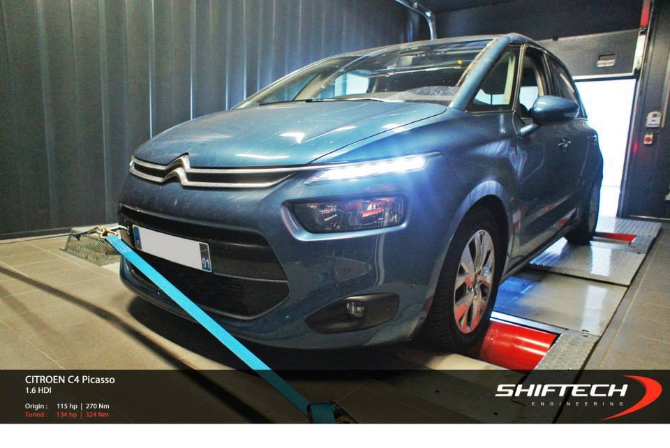 2014 citroen c4 picasso 1 6 hdi chip tuning by shiftech. Black Bedroom Furniture Sets. Home Design Ideas