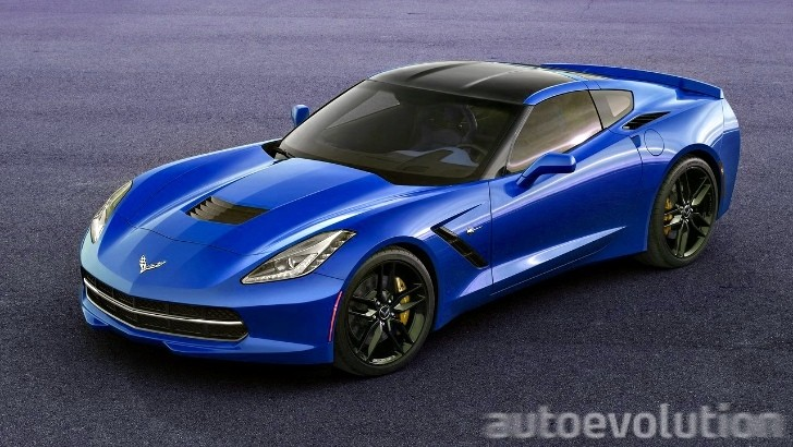2014 Corvette C7 Stingray Looks Great in Blue