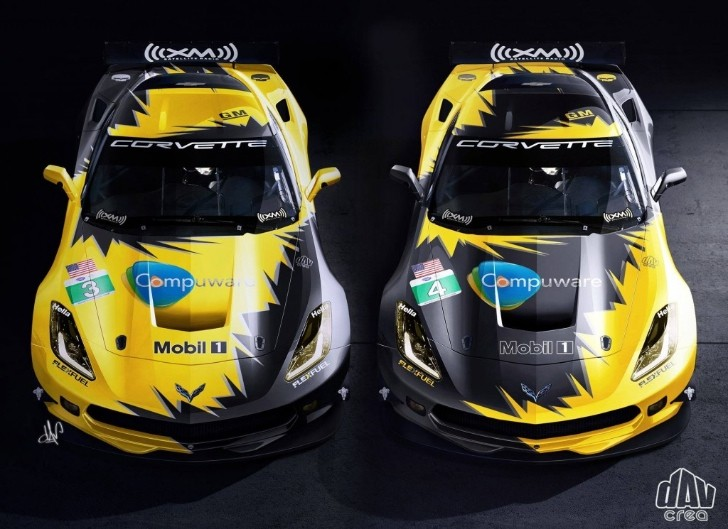 2014 Corvette C7.R Revealed in Racing Livery