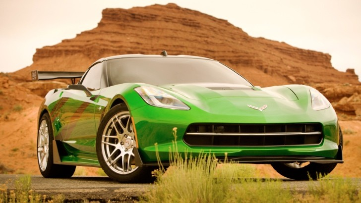 2014 Corvette Stingray and Bugatti Veyron to Star in Transformers 4