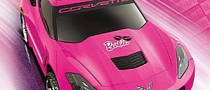 2014 Corvette Stingray Becomes Barbie Power Wheels Kids' Car
