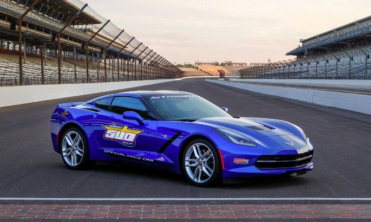 2014 Corvette Stingray Confirmed as Indy 500 Pace Car [Photo Gallery]