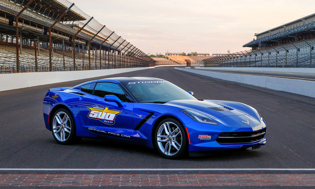 2014 corvette stingray confirmed as indy 500 pace car. Black Bedroom Furniture Sets. Home Design Ideas