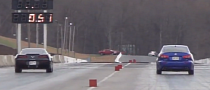 2014 Corvette Stingray Drag Races Custom Lexus IS-F [Video]
