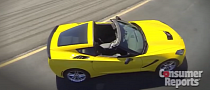 2014 Corvette Stingray Driven by Consumer Reports [Video]