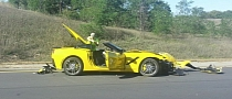 2014 Corvette Stingray: First Customer Crash