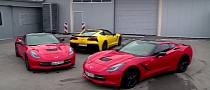 2014 Corvette Stingray Hits the Track in Serbia [Video]