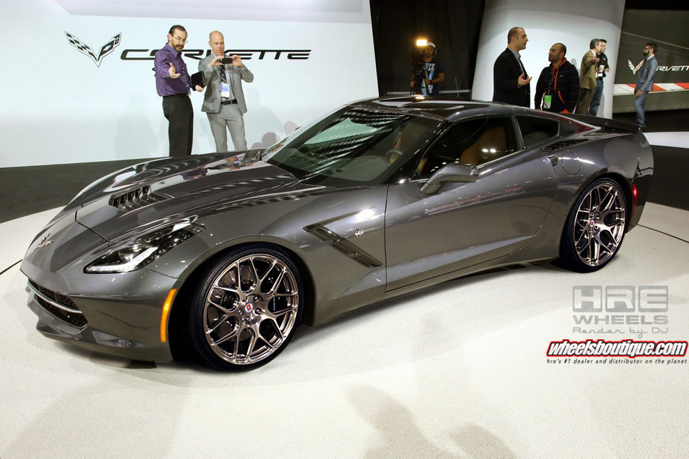 "Back to: "" 2014 Corvette Stingray on HRE Wheels """