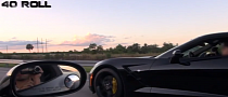 2014 Corvette Stingray Races a Modded C6 [Video]