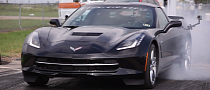2014 Corvette Stingray Runs 12-second Quarter Mile [Video]