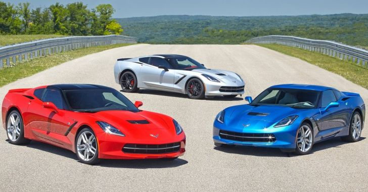 2014 Corvette Stingray with Six-Speed Automatic Rated at 28 MPG