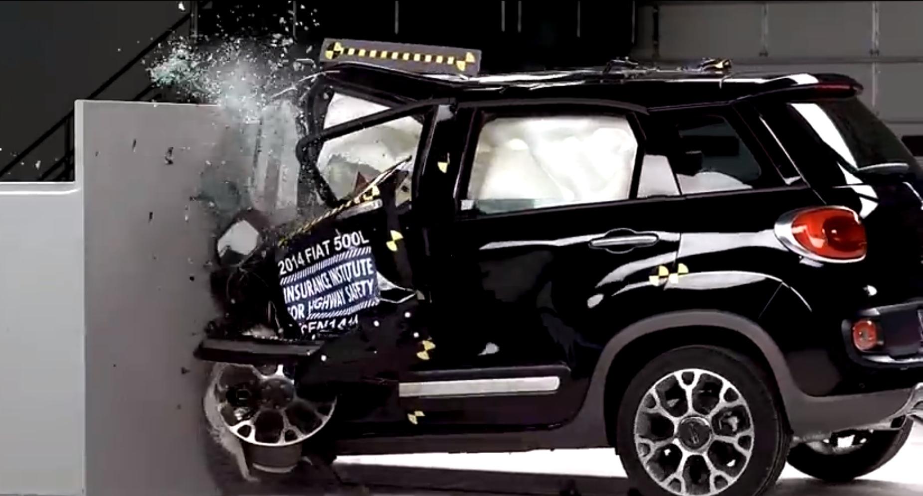 2014 Fiat 500l Fails Iihs Crash Test Autoevolution