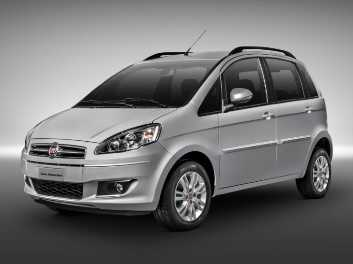 2014 Fiat Idea Facelift Unveiled [Photo Gallery]