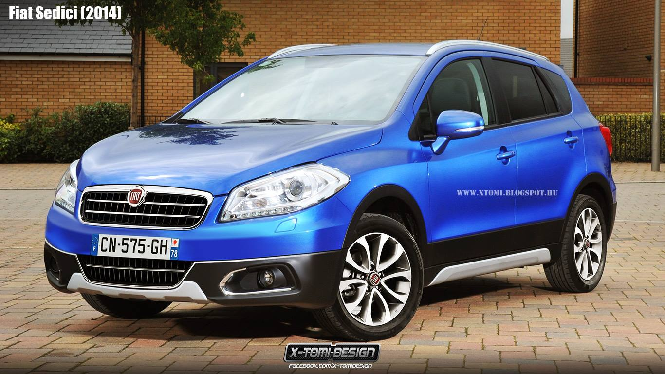2014 Fiat Sedici Rendering What It Might Have Looked Like