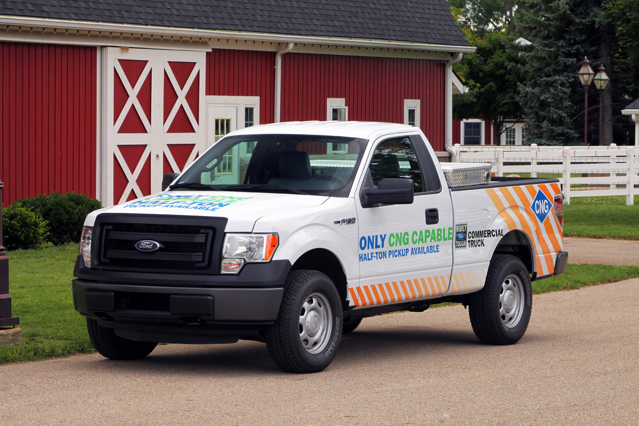 2014 Ford F 150 Gains Cng Engine Option Autoevolution Engines