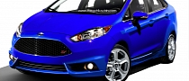 2014 Ford Fiesta ST Sedan Rendering