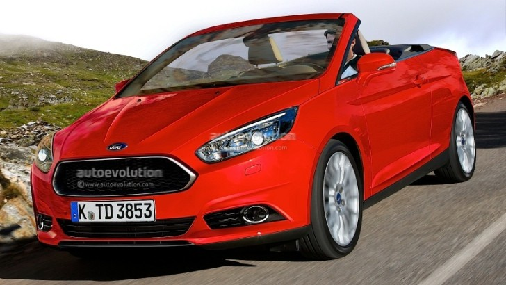 2014 Ford Focus Cabrio Looks Good, But Unlikely to Happen