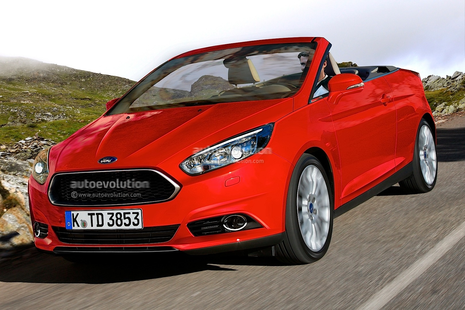2014 ford focus cabrio looks good but unlikely to happen autoevolution. Black Bedroom Furniture Sets. Home Design Ideas