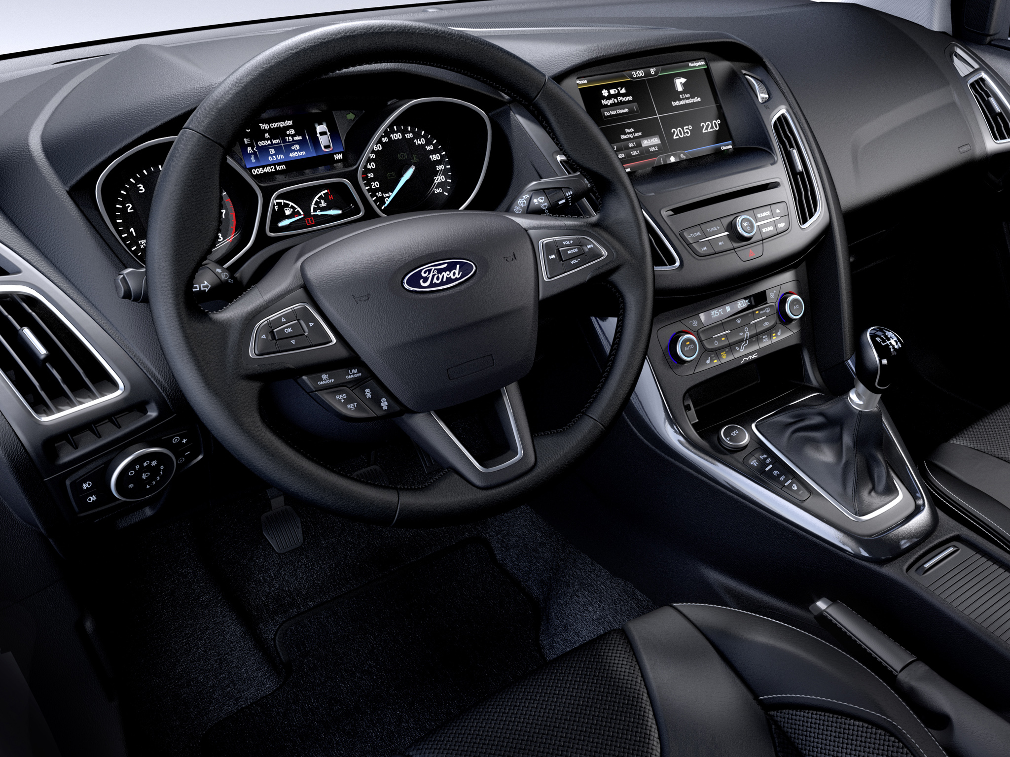 2014 Ford Focus Estate Touring Leaked Photos Show New Interior And